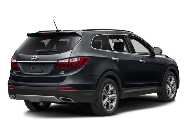Night Sky Pearl 2016 Hyundai Santa Fe Pictures Santa Fe Utility 4D Limited AWD photos rear view