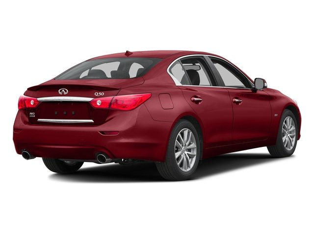 Venetian Ruby 2016 INFINITI Q50 Pictures Q50 Sedan 4D 2.0T AWD I4 Turbo photos rear view