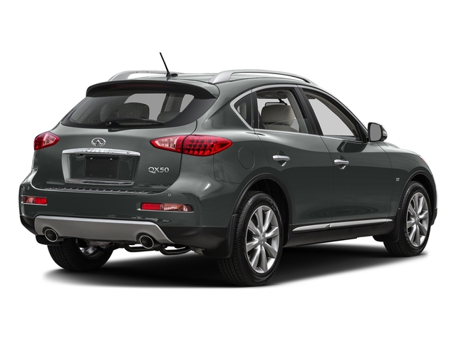 Graphite Shadow 2016 INFINITI QX50 Pictures QX50 Utility 4D 2WD V6 photos rear view