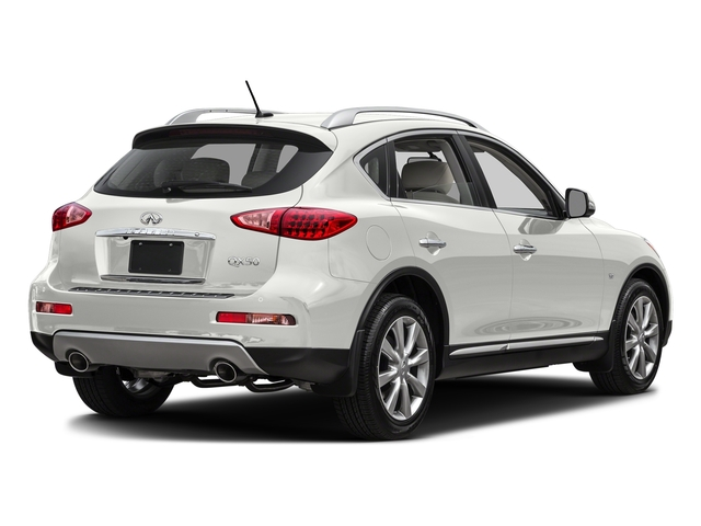 Majestic White 2016 INFINITI QX50 Pictures QX50 Utility 4D 2WD V6 photos rear view