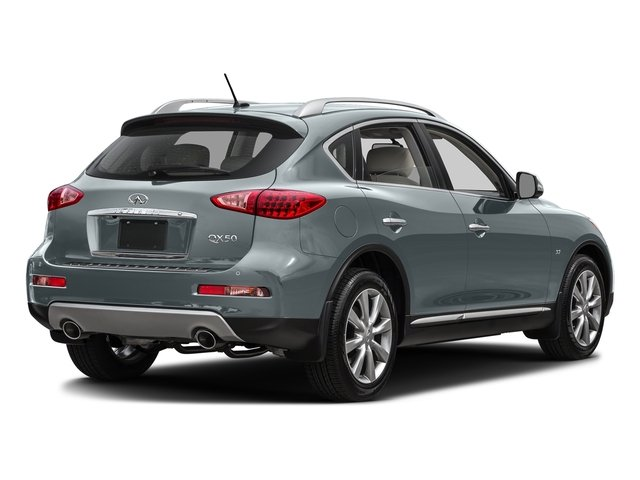 Hagane Blue 2016 INFINITI QX50 Pictures QX50 Utility 4D 2WD V6 photos rear view