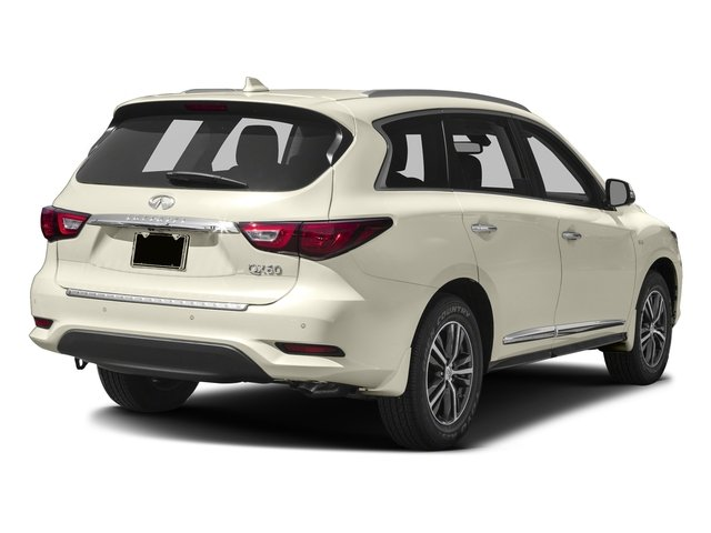 Majestic White 2016 INFINITI QX60 Pictures QX60 Utility 4D AWD V6 photos rear view