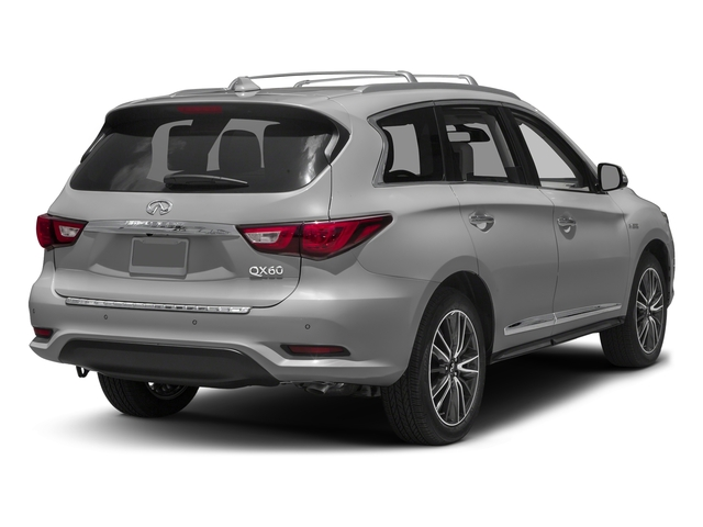 Liquid Platinum 2016 INFINITI QX60 Pictures QX60 Utility 4D Hybrid AWD I4 photos rear view