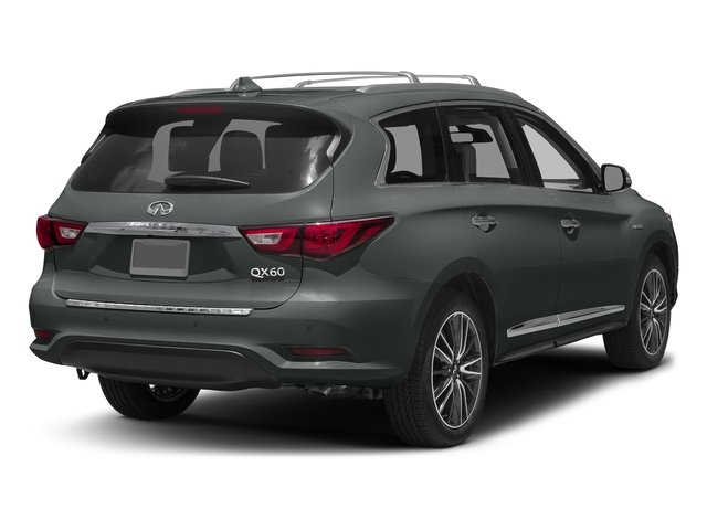 Graphite Shadow 2016 INFINITI QX60 Pictures QX60 Utility 4D Hybrid AWD I4 photos rear view