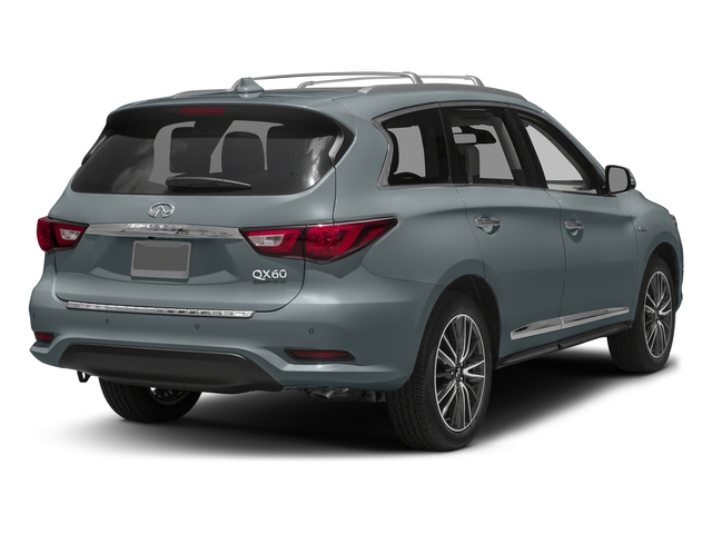 Hagane Blue 2016 INFINITI QX60 Pictures QX60 Utility 4D Hybrid AWD I4 photos rear view