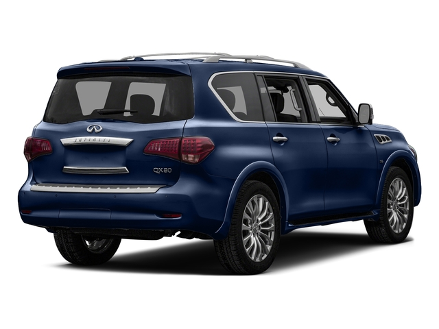 Hermosa Blue 2016 INFINITI QX80 Pictures QX80 Utility 4D Signature AWD V8 photos rear view