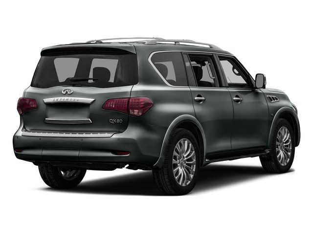 Graphite Shadow 2016 INFINITI QX80 Pictures QX80 Utility 4D AWD V8 photos rear view