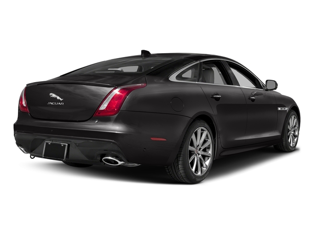 Ultimate Black Metallic 2016 Jaguar XJ Pictures XJ Sedan 4D V8 Supercharged photos rear view