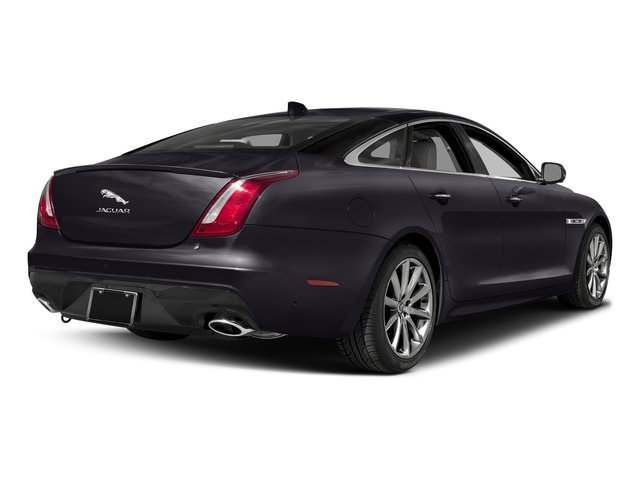 Black Berry 2016 Jaguar XJ Pictures XJ Sedan 4D V8 Supercharged photos rear view