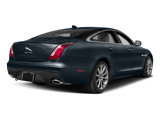 Dark Sapphire Metallic 2016 Jaguar XJ Pictures XJ Sedan 4D V8 Supercharged photos rear view