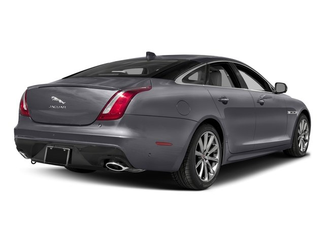 Tempest Gray 2016 Jaguar XJ Pictures XJ Sedan 4D V8 Supercharged photos rear view