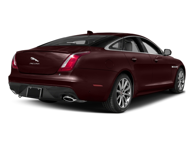 Aurora Red Metallic 2016 Jaguar XJ Pictures XJ Sedan 4D V8 Supercharged photos rear view
