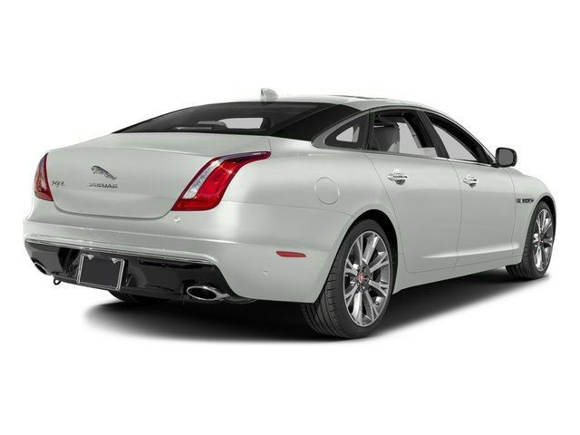 Polaris White 2016 Jaguar XJ Pictures XJ Sedan 4D L Portfolio AWD V6 Sprchrd photos rear view