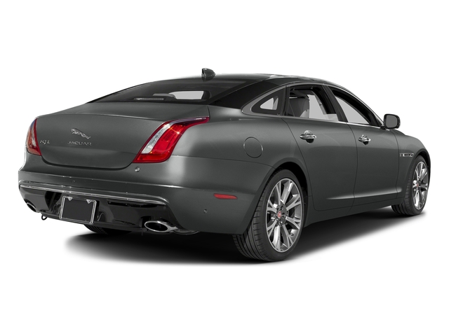 Ammonite Gray Metallic 2016 Jaguar XJ Pictures XJ Sedan 4D L Portfolio AWD V6 Sprchrd photos rear view