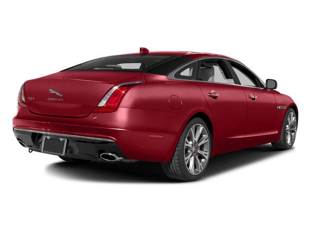 Italian Racing Red Metallic 2016 Jaguar XJ Pictures XJ Sedan 4D L Portfolio AWD V6 Sprchrd photos rear view