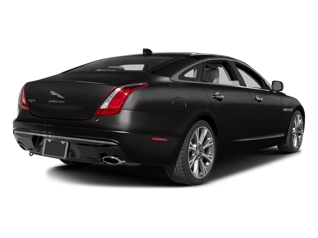 Ultimate Black Metallic 2016 Jaguar XJ Pictures XJ Sedan 4D L Portfolio AWD V6 Sprchrd photos rear view