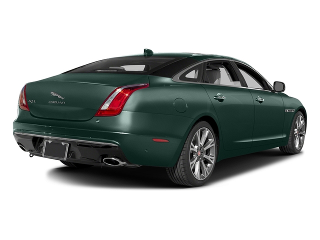 British Racing Green Metallic 2016 Jaguar XJ Pictures XJ Sedan 4D L Portfolio AWD V6 Sprchrd photos rear view