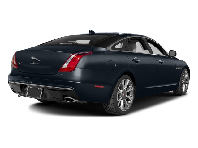 Dark Sapphire Metallic 2016 Jaguar XJ Pictures XJ Sedan 4D L Portfolio AWD V6 Sprchrd photos rear view