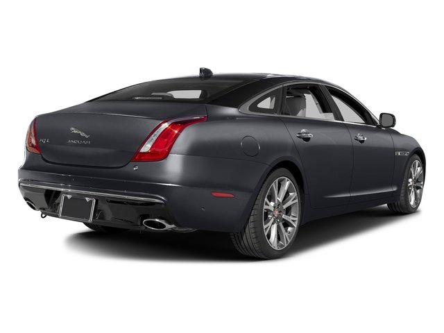 Tempest Gray 2016 Jaguar XJ Pictures XJ Sedan 4D L Portfolio AWD V6 Sprchrd photos rear view