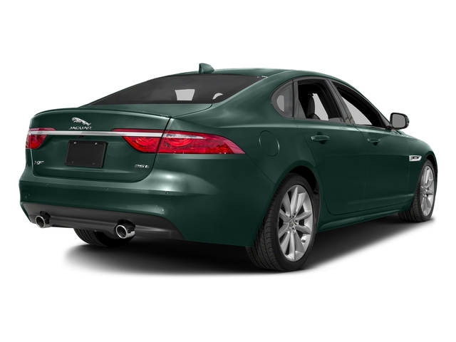 British Racing Green Metallic 2016 Jaguar XF Pictures XF Sedan 4D 35t R-Sport V6 Supercharged photos rear view