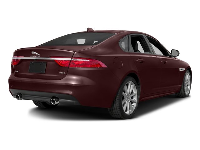 Aurora Red Metallic 2016 Jaguar XF Pictures XF Sedan 4D 35t R-Sport V6 Supercharged photos rear view