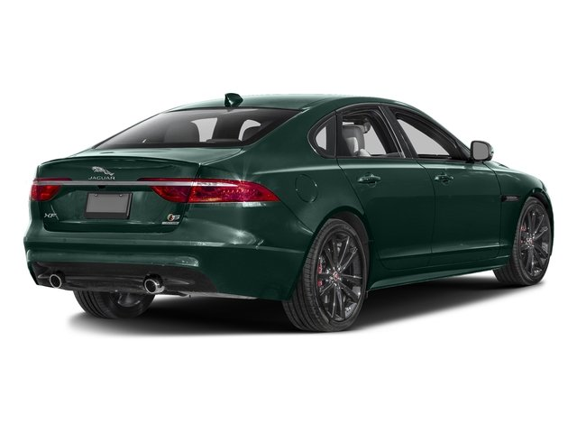 British Racing Green Metallic 2016 Jaguar XF Pictures XF Sedan 4D XF-S AWD V6 Supercharged photos rear view