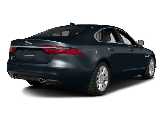 Dark Sapphire Metallic 2016 Jaguar XF Pictures XF Sedan 4D 35t Premium V6 Supercharged photos rear view
