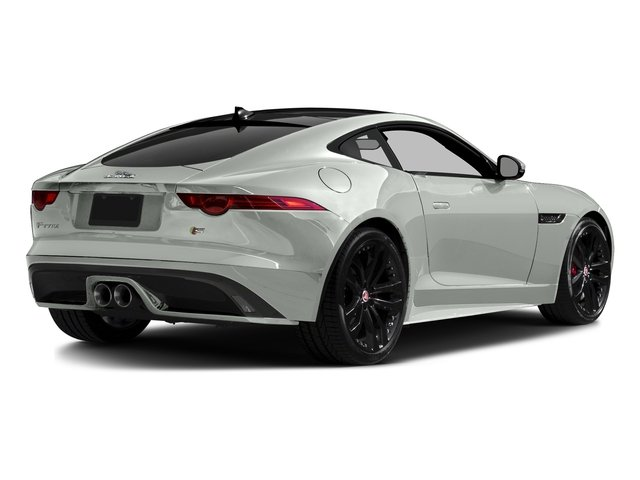 Polaris White 2016 Jaguar F-TYPE Pictures F-TYPE Coupe 2D S AWD V6 photos rear view