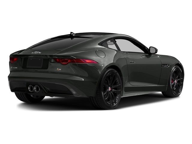 Ammonite Gray Metallic 2016 Jaguar F-TYPE Pictures F-TYPE Coupe 2D S AWD V6 photos rear view