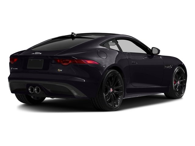 Black Berry 2016 Jaguar F-TYPE Pictures F-TYPE Coupe 2D S AWD V6 photos rear view
