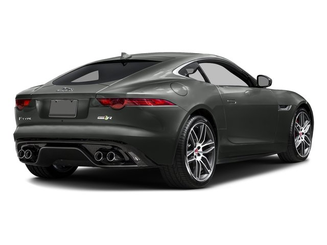 Ammonite Gray Metallic 2016 Jaguar F-TYPE Pictures F-TYPE Coupe 2D R AWD V8 photos rear view