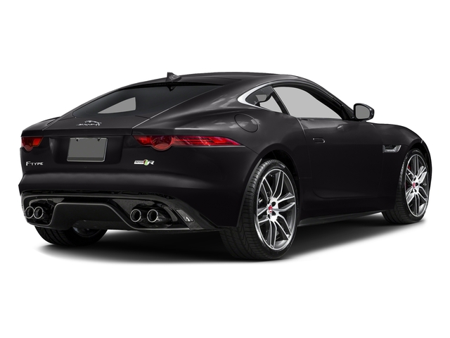 Ultimate Black Metallic 2016 Jaguar F-TYPE Pictures F-TYPE Coupe 2D R AWD V8 photos rear view