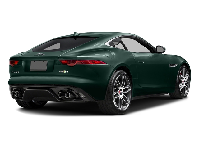 British Racing Green Metallic 2016 Jaguar F-TYPE Pictures F-TYPE Coupe 2D R AWD V8 photos rear view