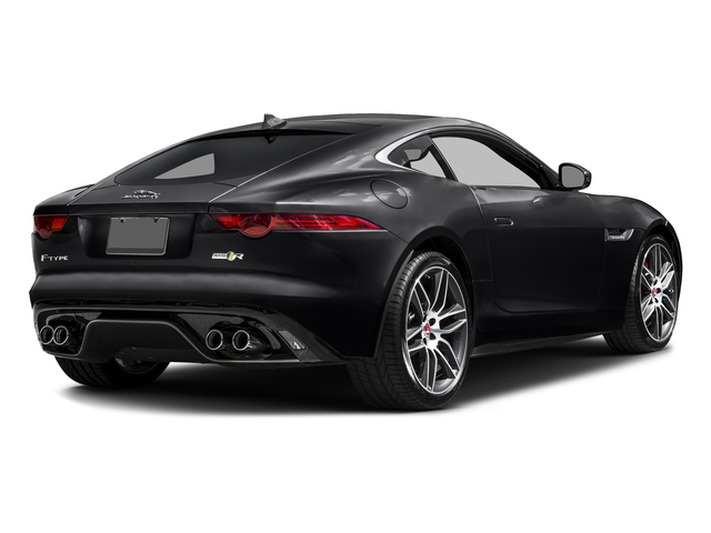 Ebony Black 2016 Jaguar F-TYPE Pictures F-TYPE Coupe 2D R AWD V8 photos rear view
