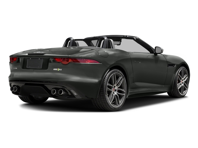 Ammonite Gray Metallic 2016 Jaguar F-TYPE Pictures F-TYPE Convertible 2D R AWD V8 photos rear view