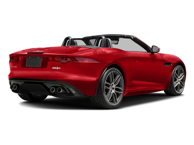 Caldera Red Metallic 2016 Jaguar F-TYPE Pictures F-TYPE Convertible 2D R AWD V8 photos rear view