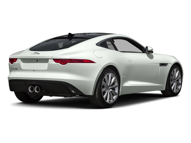 Polaris White 2016 Jaguar F-TYPE Pictures F-TYPE Coupe 2D V6 photos rear view