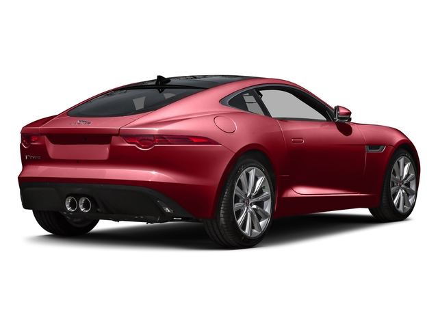 Italian Racing Red Metallic 2016 Jaguar F-TYPE Pictures F-TYPE Coupe 2D V6 photos rear view