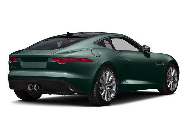 British Racing Green Metallic 2016 Jaguar F-TYPE Pictures F-TYPE Coupe 2D V6 photos rear view