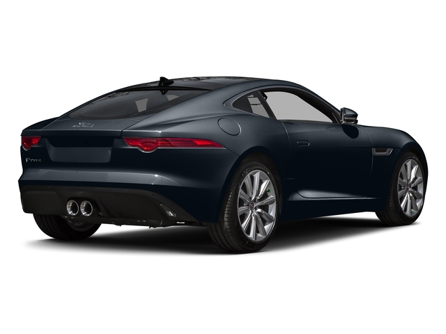 Dark Sapphire Metallic 2016 Jaguar F-TYPE Pictures F-TYPE Coupe 2D V6 photos rear view