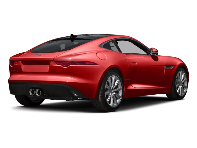 Salsa Red 2016 Jaguar F-TYPE Pictures F-TYPE Coupe 2D V6 photos rear view