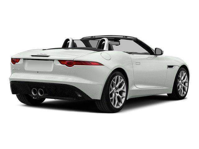 Polaris White 2016 Jaguar F-TYPE Pictures F-TYPE Convertible 2D V6 photos rear view