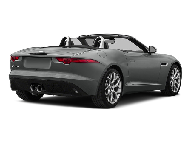 Ammonite Gray Metallic 2016 Jaguar F-TYPE Pictures F-TYPE Convertible 2D V6 photos rear view