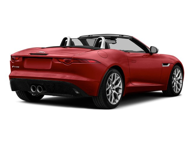 Italian Racing Red Metallic 2016 Jaguar F-TYPE Pictures F-TYPE Convertible 2D V6 photos rear view