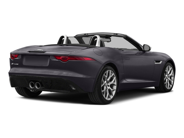 Black Berry 2016 Jaguar F-TYPE Pictures F-TYPE Convertible 2D V6 photos rear view