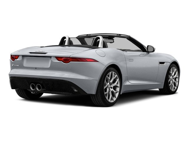 Glacier White Metallic 2016 Jaguar F-TYPE Pictures F-TYPE Convertible 2D V6 photos rear view
