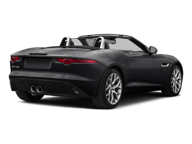 Ebony Black 2016 Jaguar F-TYPE Pictures F-TYPE Convertible 2D V6 photos rear view