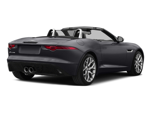 Stratus Gray Metallic 2016 Jaguar F-TYPE Pictures F-TYPE Convertible 2D V6 photos rear view