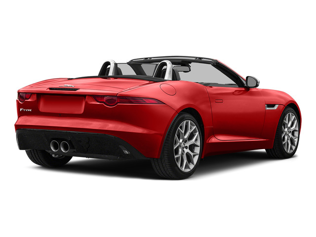 Salsa Red 2016 Jaguar F-TYPE Pictures F-TYPE Convertible 2D V6 photos rear view