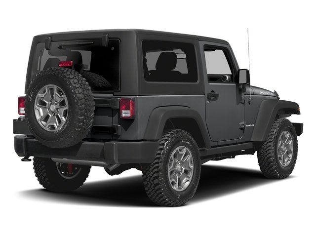Granite Crystal Metallic Clearcoat 2016 Jeep Wrangler Pictures Wrangler Utility 2D Rubicon 4WD V6 photos rear view
